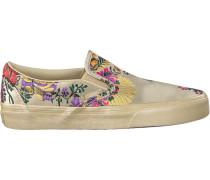 Beige Vans Slip-on Sneaker Classic Slip ON WMN