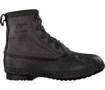 Schwarze Sorel Ankle Boots Cheyanne CVS