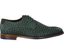 Grüne Floris Van Bommel Business Schuhe 18043