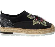 Schwarze Kanna Slip-on Sneaker Kv8056