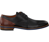 Schwarze Van Lier Business Schuhe 1915318
