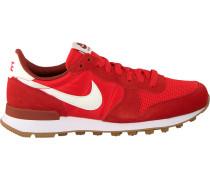 Rote Nike Sneaker Internationalist Wmns