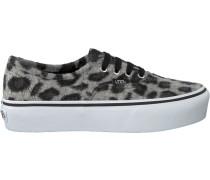 Graue Vans Sneaker Authentic Platform WMN