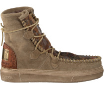 Taupe Karma of Charme Stiefeletten Camou