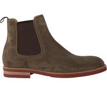 Beige Van Bommel Chelsea Boots VAN Bommel 10073