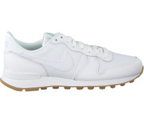 Weiße Nike Sneaker Internationalist Wmns