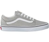 Silberne Vans Sneaker Low Ua Old Skool Wmn