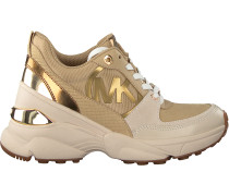Grüne Michael Kors Sneaker Low Mickey Trainer