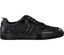 Schwarze Hugo Boss Sneaker Enlight Tenn Knit