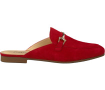 Rote Gabor Loafer 511