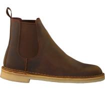 Braune Clarks Chelsea Boots 26138267 Dessert Peak