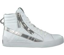 Weiße Diesel Sneaker D-String