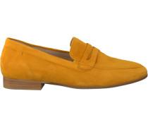 Gelbe Gabor Loafer 444