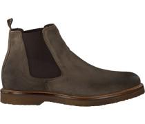 Graue Braend Chelsea Boots 24627