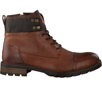 Cognacfarbene Ankle Boots Curtis 13A