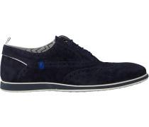 Blaue Floris Van Bommel Business Schuhe 19201