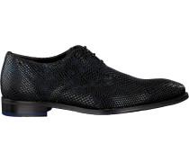 Blaue Floris Van Bommel Business Schuhe 18293