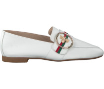 Weiße Paul Green Loafer 2472