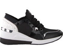 Schwarze Michael Kors Sneaker LIV Trainer