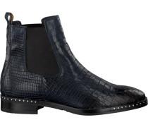 Blaue Omoda Chelsea Boots 86B001