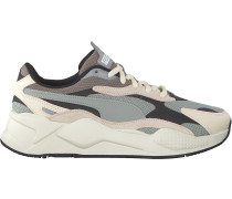 Weiße Puma Sneaker Low Rs-x3 Puzzle Heren