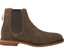 Grüne Clarks Chelsea Boots Clarkdale Gobi Heren