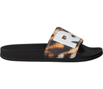 Braune G-Star Raw Pantolette Cart Slide Ii Dames CrilBV
