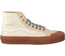 Weiße Vans Sneaker Sk8-Hi 138 SF WMN