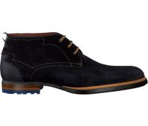 Blaue Floris Van Bommel Business Schuhe 10947