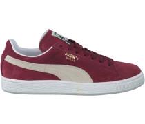 Rote Puma Sneaker Suede Classic+ Dames