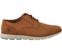 Cognacfarbene Sneaker Franklin Park Brogue OX