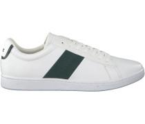 Weiße Lacoste Sneaker Carnaby Evo 319 1