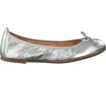 Silberne Unisa Ballerinas Acor
