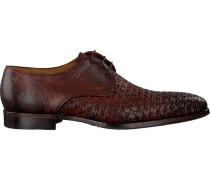Cognacfarbene Greve Business Schuhe Barbera