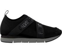 Schwarze Calvin Klein Slip-on Sneaker Tonio Tonio