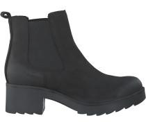 Schwarze Omoda Biker Boots R10476