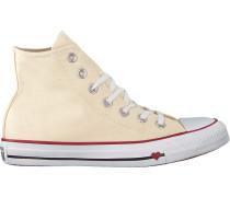 Weiße Sneaker Chuck Taylor ALL Star HI Dames