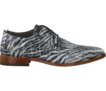 Business Schuhe Greg Croco Zebra