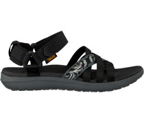 Schwarze Teva Sandalen W Sanborn Sandal