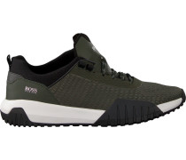 green Hugo Boss shoe Storm Runn