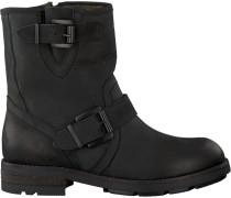 Schwarze Omoda Biker Boots 8525