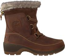 Braune Sorel Ankle Boots Torino Premium