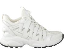 Weiße Michael Kors Sneaker Low Hero Trainer