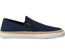 Blaue Scotch & Soda Slip-on Sneaker Izomi