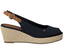 Blaue Espadrilles Iconic Elba Basic Sling Back