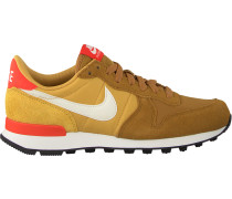 Bronzefarbene Nike Sneaker Internationalist Wmns