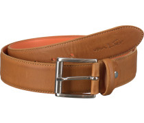 Cognacfarbene Van Lier Business Schuhe 5450