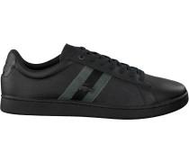 Schwarze Lacoste Sneaker Carneby Evo