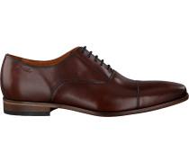 Cognacfarbene Van Lier Business Schuhe 1958912