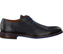 Graue Van Lier Business Schuhe 5340